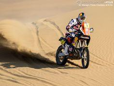 KTM's Cyril Despres at the 2013 Dakar Rally