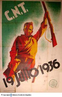 19 julio 1936 :: Cartells del Pavelló de la República (Universitat de Barcelona)