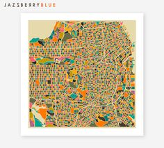 SAN FRANCISCO Map, Giclee Fine Art Poster Print, Modern Abstract Wall Art for the Home Decor by JazzberryBlue on Etsy https://www.etsy.com/listing/163182360/san-francisco-map-giclee-fine-art-poster