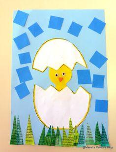 Maestra Caterina - Pasqua (da un'idea trovata su Pinterest)