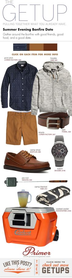 The Getup: Summer Evening Bonfire Date - Primer