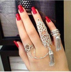tassels & diamonds