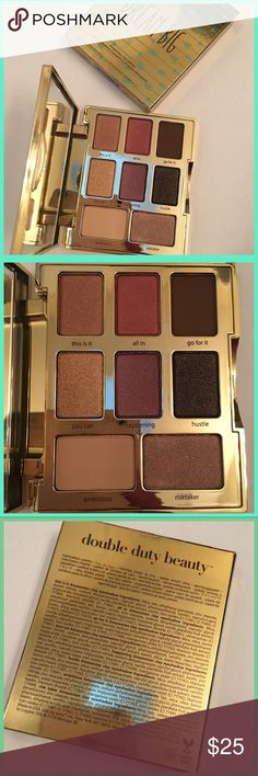 TARTE DREAM BIG EYESHADOW PALETTE BRAND NEW IN BOX!LIMITED EDITION DREAM BIG EYESHADOW PALETTE. Eight pans of beautiful limited edition shades. Super cute packaging, light vanilla scent. Not overpowering at all.                          BUNDLE & SAVE 20% tarte Makeup Eyeshadow