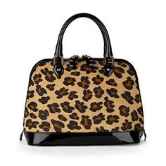 Hepburn Bag in Leopard Print. I so heart this bag!