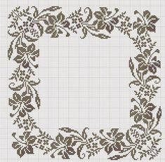 Embroidery Patterns 19 марта 2014 г. - Larisa K - Picasa Web Albümleri Cross Stitch Borders, Cross Stitch Flowers, Cross Stitch Designs, Cross Stitching, Cross Stitch Embroidery, Embroidery Patterns, Cross Stitch Patterns, Loom Patterns, Easy Crochet Patterns