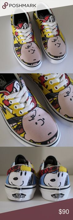 fcc9df466d Vans Charlie Brown 2017 Peanuts Edition Brand new 2017 Peanuts Youth Shoe  Size 1 Box not