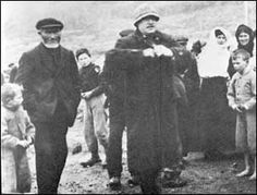 The Factor, Mr Mackenzie, arriving to collect the rents c.1910  Photograph: Anna Mackenzie