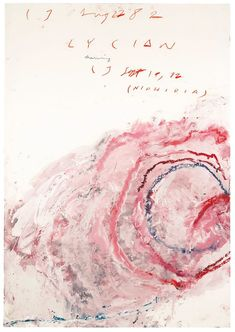 Cy Twombly Art Inspiration by The Petticoat -56