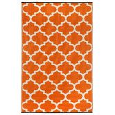 Found it at Wayfair - Tangier Carrot World Indoor/Outdoor Rug