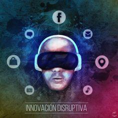 Innovación Disruptiva, arte creado pensando en el remplazo de nuevas tecnologías y como estamos sumergidos en un mundo totalmente alterno a la realidad