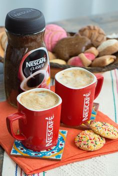Sunrise Coffee, Ice Milk, Tea Biscuits, Coffee Pictures, Nescafe, Frappe, Special Recipes, Best Coffee, Mixed Drinks