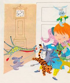 my vintage book collection (in blog form).: My Little Counting Book - illustrated by Ruth Ruhman
