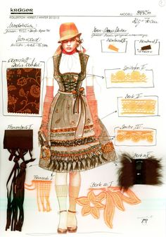 German steampunk traditional dress - Google Search