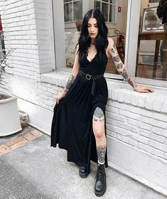 Gothic Outfits, Edgy Outfits, Grunge Outfits, Cool Outfits, Fashion Outfits, Dark Fashion, Gothic Fashion, Grunge Fashion, Alternative Outfits