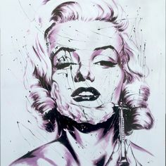 Marilyn Monroe in a pretty unusual situation. More designs by our Artist of the Month for your cases here!