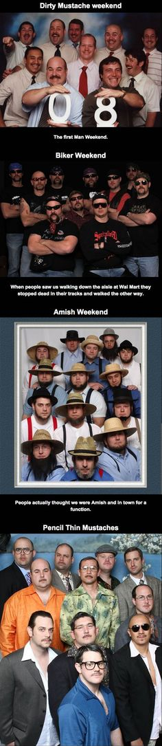 My Friends And I Get Together Once A Year For Man Weekend..... what a great thing to have this in life