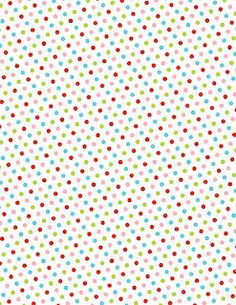 Printable patterns - love these spots