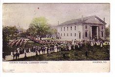 Military Parade, Garrison Chapel Halifax Nova Scotia Warwick, Lower Northfield, East River Split Ring Cancels