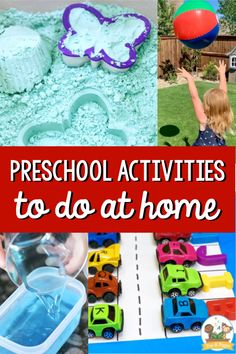 Preschool Activities to Do at Home (or in the Classroom) - Pre-K Pages