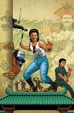 Big Trouble in Little China by Joe Quinones *