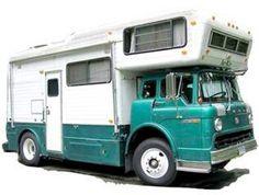 65 Ideas For Vintage Truck Camper Motor Homes Truck Camper, Camper Caravan, Camper Van, Classic Campers, Classic Trucks, Vintage Rv, Vintage Trucks, Vintage Campers, Vintage Dress