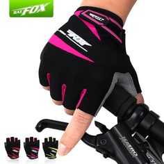 Aliexpress.com : Buy BATFOX Unisex Summer Cycling Gloves Half Finger Gel Pad MTB Bike Bicycle Gloves Nylon Shockproof Sport Mitness Guantes Ciclismo from Reliable bicycle gloves padded suppliers on Wild Side - Cycling