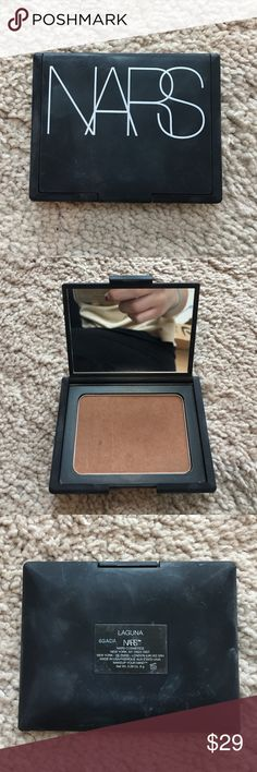 NARS Laguna Bronzer Tried using a few times! Found out this is too dark for me, so need to sell. Very good condition. NARS Makeup Bronzer