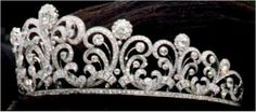 The Japanese Crown Princess Scroll Tiara.  The Royal Order of Sartorial Splendor - The Japanese Crown Princess Scroll Tiara The Japanese tiara best known today as the diadem worn by Masako Owada during the events surrounding her wedding to Japan's Crown Prince Naruhito in 1993 played a previous role in another important imperial wedding: the 1959 marriage of Michiko Shōda to Crown Prince Akihito, today the Emperor and Empress, and Naruhito's parents.