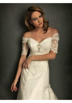 Bridal romantic Off The Shoulder Wedding Dresses