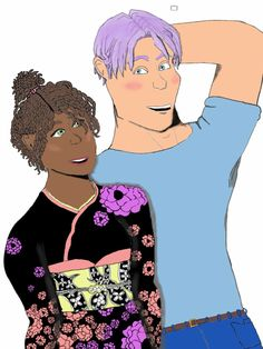 Art for fanfic:Kuni       REPIN 4 FANDOM KUNI! My friend's character in her book that she's making. And this is Trunks (or Taru) paired with Gratutituci  (girl in the movie Home). Includes many more pairs, mixing some cultures, funny content, and more! So again I say if you are into this reminds! Also share this on other websites to your friends, please. SPREAD THE NEW FANDOM! Thanks.