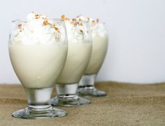 Coconut Cream Pudding (use condensed coconut milk) mmmmm :) Desserts In A Glass, Dessert Dishes, Mini Desserts, Just Desserts, Condensed Coconut Milk, Canned Coconut Milk, Coconut Cream, Pudding Desserts, Gluten Free Desserts
