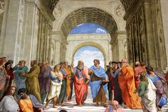 Escuela de Atenas (1512), Rafael. Museo del Vaticano.