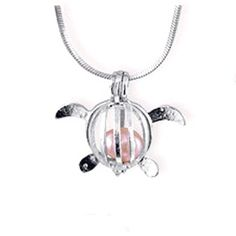 Rocks Create Your own Pearls Stainless Steel Chain cat Footprint Horse Locket Necklace Stones Horse Beads Cage