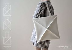 Shape-Shifting Bags - The Omni Bag by Kumeko is Inspired by the Art of Origami (GALLERY)