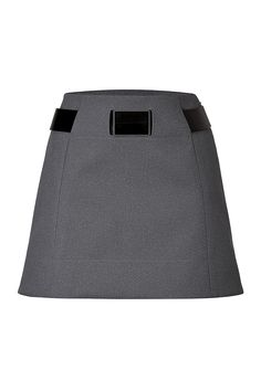 PACO RABANNE Belted A-Line Skirt. #pacorabanne #cloth #skirts