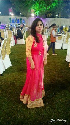 Pink simole gown n