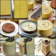 Jak se to dělá ? Easy Chocolate Chip Cookies, Chocolate Cake, Base Cake, Striped Cake, Cake Photography, Sweets Cake, Cake Images, Food Cakes, Cake Tutorial