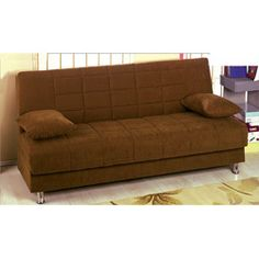 @Overstock - This convertible sofa bed from Hamilton is the perfect solution for homes with tight spaces. This sofa bed features brown microfiber upholstery with a storage compartment.http://www.overstock.com/Home-Garden/Hamilton-Convertible-Sofa-Bed/6095489/product.html?CID=214117 $471.99