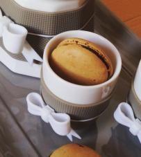 "Cucina Fashion | Tazzine Caffè ""Chic & Pastel"" Baci Milano."