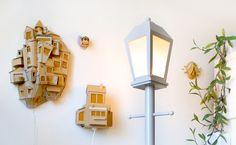 La fabrication d'un lampadaire en carton expliquée étape par étape, un DiY qui permet d'apporter une touche originale à la décoration d'intérieur !