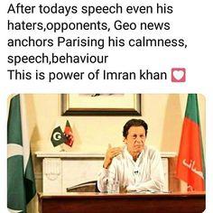 Geo News, Imran Khan, News Anchor, He Day, Prime Minister, Cricket, Pakistan, Behavior, Qoutes