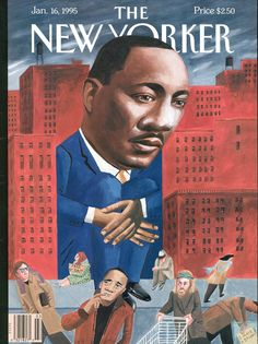 Martin Luther King jr. The New Yorker - January 16, 1995_Ulriksen