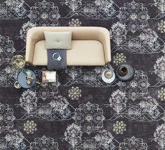 Durf en ontdek jouw persoonlijke woonstijl met de #Vintage #tapijtcollectie.