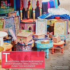 40+ Pop Up stalls with Handmade artifacts, accessories and lots more at The Great Mela this November! #lifeisamela and #itallhappensinbetween