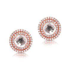 At Anne Sisteron Fine Jewelry, Buy rose gold white topaz diamond sonrisa stud earrings online White Topaz, Studs, Rose Gold, Stud Earrings, Diamond, Stud Earring, Stud Earring, Diamonds, Earring Studs