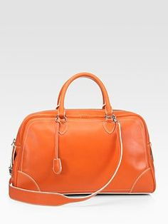 The Venetia Bag in Orange by Marc Jacobs.  What a perfect color for fall!