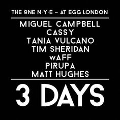 Last remaining allocation of NYE at EGG tickets are on sale now - Republic Artists Records Best Dj, Nye, Ticket, Eggs, Events, Artists, Music, Musica, Musik