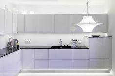 Row house, interior design, kitchen. Rivitalo sisustussuunnittelu, keittiö. Radhus, inredningsdesign, kök.