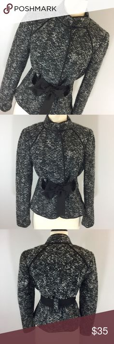 Stunning Sandro Sportswear boucle blazer Stunning Sandro boucle belted blazer. Fully lined. 18 inches armpit to armpit 19 inches long. Hidden button front. Sandro Jackets & Coats Blazers
