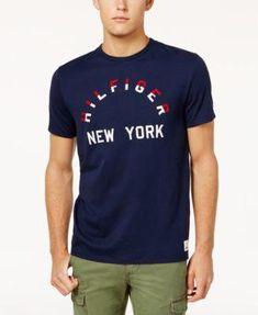 3a9f384bd1444 TOMMY HILFIGER Tommy Hilfiger Men s Graphic Print T-Shirt.  tommyhilfiger   cloth